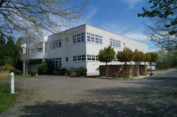 Bürogebäude der MAXSEL GmbH