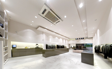 Modern interior boutique